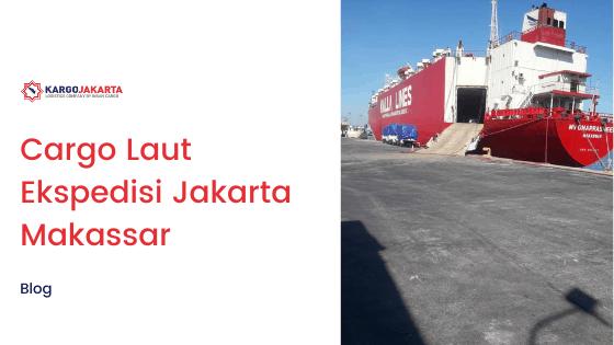 cargo laiut ekspedisi jakarta makassar
