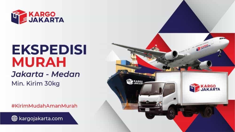 Jasa Ekspedisi dari Jakarta ke Medan murah Min 30kg DTD